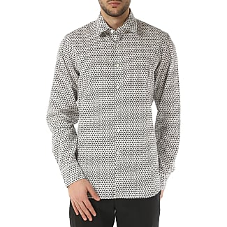 Shirt for Men On Sale in Outlet, White, Cotton, 2017, 14.5 15 15.5 15.75 Prada