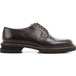 Mens Shoes On Sale, Black Vintage, Leather, 2017, 7 8 9 Premiata
