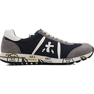 Sneakers for Men On Sale, navy, Suede leather, 2017, 10.5 6.5 Premiata
