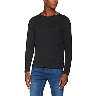 12129123, Suéter Para Hombre, Gris (Dark Grey Melange), Medium Premium by Jack & Jones