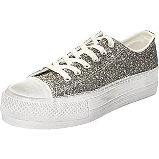 Sneakers, Zapatillas para Mujer, Bianco, 38 EU Prima Donna