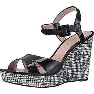 Zapatos peep toe 703357 Negro EU 36 Belmondo Q8dOr4HJ