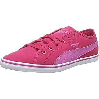 Puma Unisex-Kinder Engine Jr Low-Top, Weiß White-Ultra Magenta 03, 38.5 EU