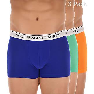 Boxer Briefs for Men, Boxers On Sale, 2 Pack, Atlantic Blue, Cotton, 2017, S (EU 3) M (EU 4) Ralph Lauren