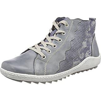 R1474, Zapatillas Altas para Mujer, Azul (Jeans/Denim/Jeans/Silber), 37 EU Remonte