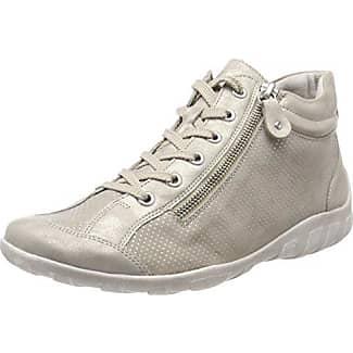 Remonte R1470, Zapatillas Altas para Mujer, Gris (Grau/Cigar 42), 42 EU