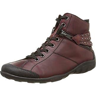 R3458, Zapatillas Altas para Mujer, Rojo (Chianti/Bordeaux/35), 37 EU Remonte