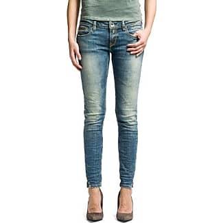Womens Melissa P 481 Skinny Jeans, Blue (milky wash), W25/L30 (25) Cross Jeanswear