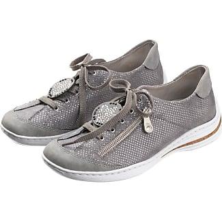 Chaussure À Lacets Gris Rieker Combinés QpOcnfVNj