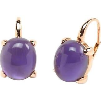 Rina Limor Sunrise Orange Color Crystal Bubble Earrings u97vo