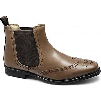 Herren Chelsea Boots, Braun - Hellbraun - Größe: 41.5 Roamer