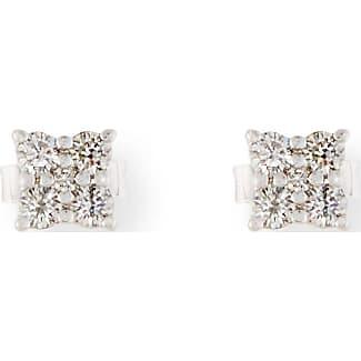 Roberto Coin Prong-Set Diamond Flower Earrings UKSdr