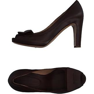Pumps & High Heels for Women On Sale, brown leather, Leather, 2017, 4 7.5 Roberto Del Carlo