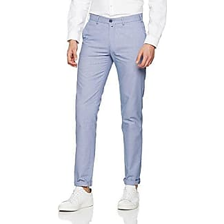 Microdibujo Mens Pantalon Bleu Roberto Verino TOjqxGO1VF