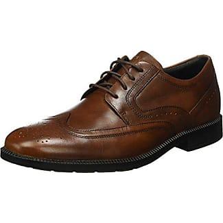 Rockport Dressport Modern Apron Toe - Zapatos Hombre, Braun (New Brown), 43