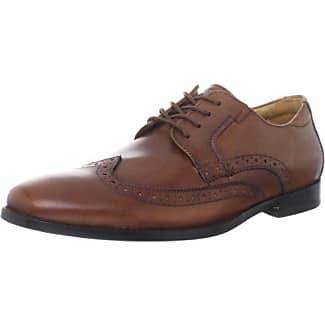 Rockport Style Purpose Cap Toe, Zapatos de Cordones Brogue para Hombre, Marrón (Tan), 41 EU