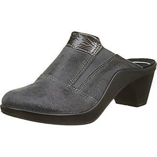 Romika - Damen - Mokassetta 257 - Clogs & Pantoletten - schwarz 6ViKmo