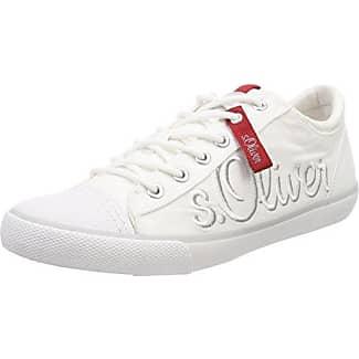s.Oliver 13641, Zapatillas para Hombre, Blanco (White), 46 EU