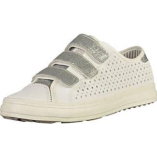 s.Oliver Damen 23642 Sneaker, Weiß (White/Silver), 39 EU