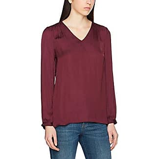 s.Oliver Black Label s.Oliver 11702135606, Blusa para Mujer, Rot (Deep Red 3350), 44