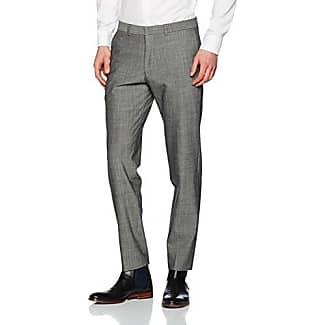 Hose Lang, Pantalones de Traje para Hombre, Gris (Grey/Black Dots 98M4,Grau), 90 s.Oliver Black Label