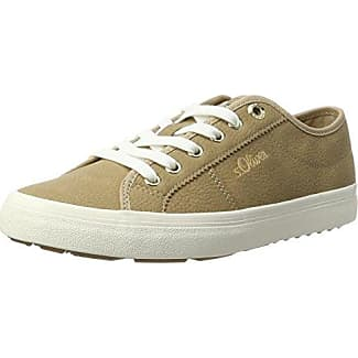 s.Oliver 25201, Zapatillas Para Mujer, Beige (Champagner), 36 EU