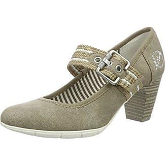 24407, Zapatos de Tacón para Mujer, Marrón (Pepper Comb.), 40 EU s.Oliver