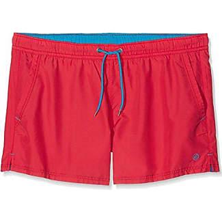 s.Oliver 24704747317, Pantalones Cortos de Baño Premamá para Hombre, Multicolor (Palm Tree AOP Ocean Blue 56A1), XL