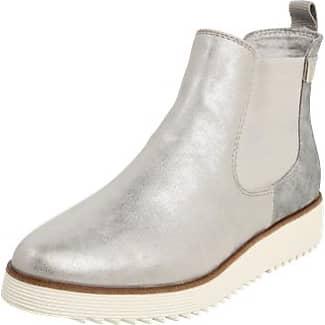 S. S. Oliver Femmes 25410 Chelsea Boots - Zilver - 40 Eu Oliver 25410 Femmes Bottes Chelsea - Argent - 40 Eu D3c54t