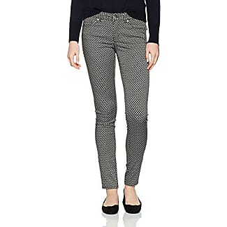 s.Oliver Black Label s.Oliver 22.712.76.4303, Pantalones para Mujer, Negro (Grey/Black 9999), 34
