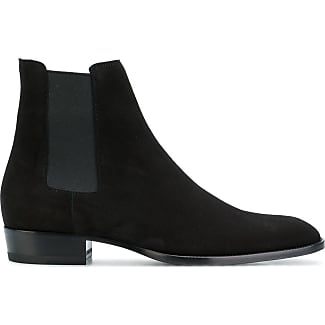 Chelsea Boots for Men On Sale, Cacao, Suede leather, 2017, 6.5 6.75 7 7.5 Saint Laurent