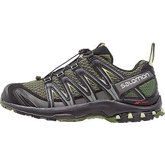 Salomon XA Pro 3D, Chaussures de Randonnée Homme, Multicolore (Lime vert/Hawaiian Ocean/BK), 42 2/3 EU
