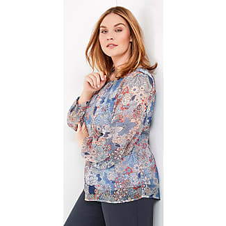 Blouse top in a mix of materials ecru-beige female Samoon Cheap Choice Cheap Sale 2018 Quality From China Wholesale 2ur9C4xP