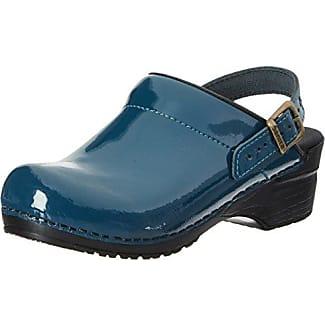Gevavi6006 Bighorn - Zuecos Mujer, Color Azul, Talla 40