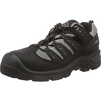 Sanita San-Chef Lace Shoe-S2, Zapatos de Seguridad Unisex Adulto, Negro (Black 2), 46 EU
