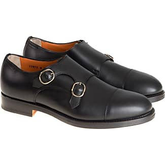 Monk Strap Shoes for Men On Sale, Midnight, Leather, 2017, 10 10.5 6.5 7 7.5 8 8.5 9 9.5 Santoni