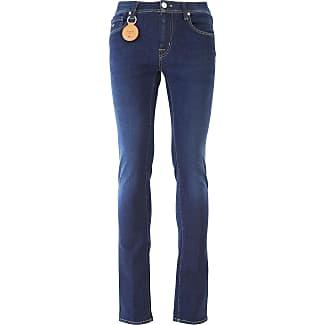 Jeans On Sale, Blue Denim, Cotton, 2017, 30 31 32 33 34 Sartoria Tramarossa