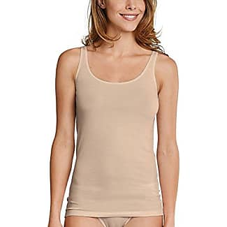 Schiesser Trägertop, Camiseta de Tirantes para Mujer, Gris (Anthrazit 203), 46
