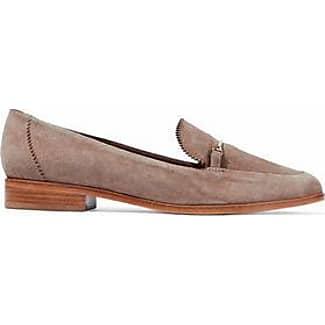 Schutz Woman Velvet Loafers Indigo Size 9