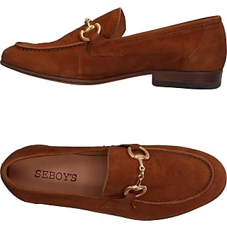 Loafers for Men On Sale, Brown, Leather, 2017, 6.5 6.75 9.25 9.5 Seboy