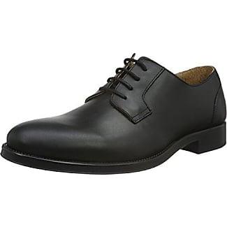 Shdantonio Shoe Noos - Zapato Oxford de Cuero Hombre, Marrón (Cognac), 45 Selected