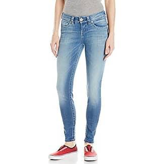 Silver Jeans Co Suki High Super Skinny-Azul Mujer Blau (Rinse 413) 34 i8AjDBTP