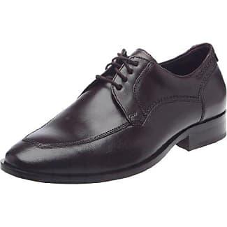 Sioux Danino - Zapatos De Cordones para hombre, color schwarz/schwarz, talla 40.5