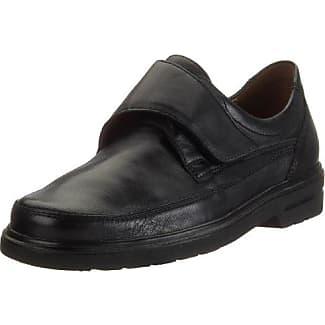 Sioux Kallon - Chaussures En Cuir Avec L'homme Lacets, Couleur Noir, Taille 40.5