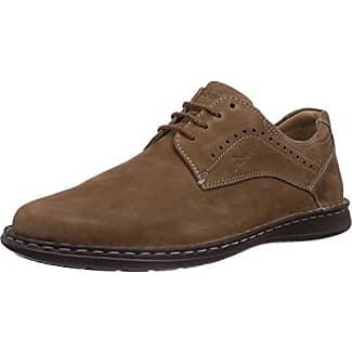 Sioux 20230 - Chaussures En Cuir Classique Pour Les Hommes, Couleur Noire, Taille 46