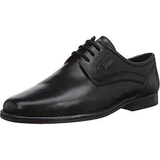 Sioux Danino - Zapatos De Cordones para hombre, color schwarz/schwarz, talla 42.5