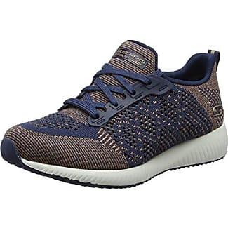 Skechers Sans Lumière Coeur, Chaussures Des Femmes Sans Lacets, Bleu (marine), 36 Eu