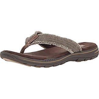 Usa Pelem Masculino Emiro Sandale Plate, Chocolat, Nous 7 M