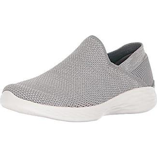 Skechers Glissement Vous-luxe Sur Sneaker - Noir - 42 Eu Ea25Z