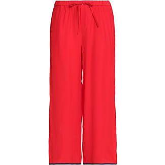 Sleepy Jones Woman Silk-crepe Pajama Pants Red Size XS Sleepy Jones Authentic 3MX71